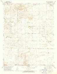 Mount Helen Kansas Historical topographic map, 1:24000 scale, 7.5 X 7.5 Minute, Year 1972