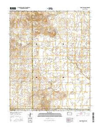 Mount Helen Kansas Current topographic map, 1:24000 scale, 7.5 X 7.5 Minute, Year 2016