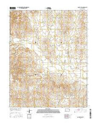 Mount Jesus Kansas Current topographic map, 1:24000 scale, 7.5 X 7.5 Minute, Year 2016