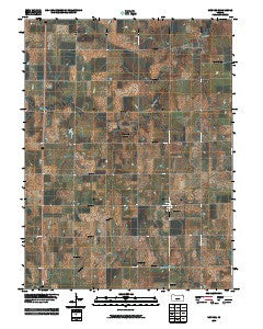 Munden Kansas Historical topographic map, 1:24000 scale, 7.5 X 7.5 Minute, Year 2009