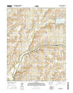 New Salem Kansas Current topographic map, 1:24000 scale, 7.5 X 7.5 Minute, Year 2015 from Kansas Map Store