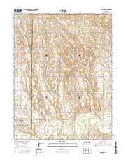 Nicodemus Kansas Current topographic map, 1:24000 scale, 7.5 X 7.5 Minute, Year 2016 from Kansas Maps Store