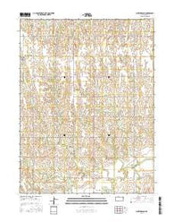 Northbranch Kansas Current topographic map, 1:24000 scale, 7.5 X 7.5 Minute, Year 2016