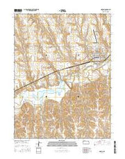 Norton Kansas Current topographic map, 1:24000 scale, 7.5 X 7.5 Minute, Year 2016 from Kansas Maps Store