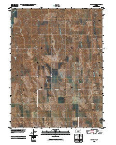 Norton NW Kansas Historical topographic map, 1:24000 scale, 7.5 X 7.5 Minute, Year 2009