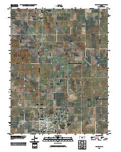 Osage City Kansas Historical topographic map, 1:24000 scale, 7.5 X 7.5 Minute, Year 2009