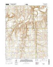 Otis NE Kansas Current topographic map, 1:24000 scale, 7.5 X 7.5 Minute, Year 2015 from Kansas Maps Store
