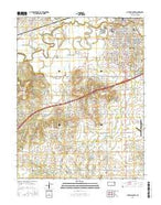 Ottawa South Kansas Current topographic map, 1:24000 scale, 7.5 X 7.5 Minute, Year 2015 from Kansas Map Store