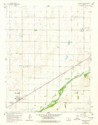 Pawnee Rock Kansas Historical topographic map, 1:24000 scale, 7.5 X 7.5 Minute, Year 1960