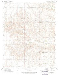 Proffitt Lake NW Kansas Historical topographic map, 1:24000 scale, 7.5 X 7.5 Minute, Year 1972