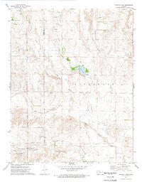 Proffitt Lake Kansas Historical topographic map, 1:24000 scale, 7.5 X 7.5 Minute, Year 1972