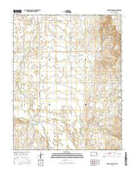 Protection SW Kansas Current topographic map, 1:24000 scale, 7.5 X 7.5 Minute, Year 2016