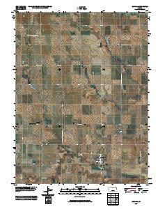 Randall Kansas Historical topographic map, 1:24000 scale, 7.5 X 7.5 Minute, Year 2009