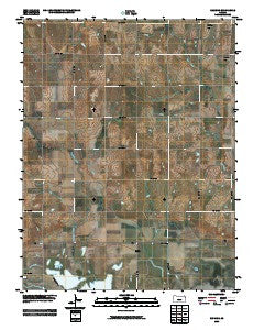 Redwing Kansas Historical topographic map, 1:24000 scale, 7.5 X 7.5 Minute, Year 2009