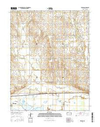 Redwing Kansas Current topographic map, 1:24000 scale, 7.5 X 7.5 Minute, Year 2016