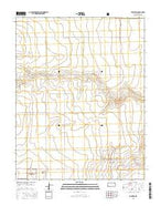 Richfield Kansas Current topographic map, 1:24000 scale, 7.5 X 7.5 Minute, Year 2015 from Kansas Map Store