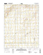 Richfield NE Kansas Current topographic map, 1:24000 scale, 7.5 X 7.5 Minute, Year 2015 from Kansas Map Store