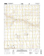 Richfield SW Kansas Current topographic map, 1:24000 scale, 7.5 X 7.5 Minute, Year 2015 from Kansas Map Store