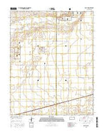 Rolla NE Kansas Current topographic map, 1:24000 scale, 7.5 X 7.5 Minute, Year 2015 from Kansas Map Store