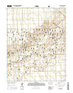 Rolla NW Kansas Current topographic map, 1:24000 scale, 7.5 X 7.5 Minute, Year 2015 from Kansas Map Store