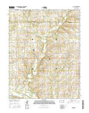 Rollin Kansas Current topographic map, 1:24000 scale, 7.5 X 7.5 Minute, Year 2015 from Kansas Maps Store