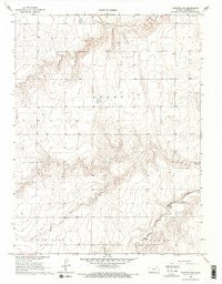 Ruleton NW Kansas Historical topographic map, 1:24000 scale, 7.5 X 7.5 Minute, Year 1966