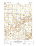 Ruleton NE Kansas Current topographic map, 1:24000 scale, 7.5 X 7.5 Minute, Year 2015 from Kansas Map Store