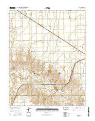 Ryus Kansas Current topographic map, 1:24000 scale, 7.5 X 7.5 Minute, Year 2016