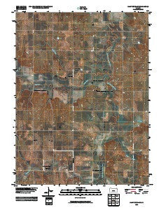 Saint Benedict Kansas Historical topographic map, 1:24000 scale, 7.5 X 7.5 Minute, Year 2009