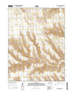 Saint Francis SW Kansas Current topographic map, 1:24000 scale, 7.5 X 7.5 Minute, Year 2015 from Kansas Map Store