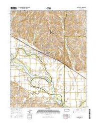 Saint Marys Kansas Current topographic map, 1:24000 scale, 7.5 X 7.5 Minute, Year 2016