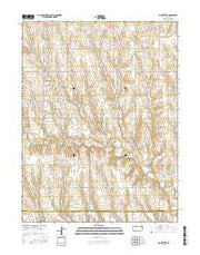 Saint Peter Kansas Current topographic map, 1:24000 scale, 7.5 X 7.5 Minute, Year 2015 from Kansas Maps Store
