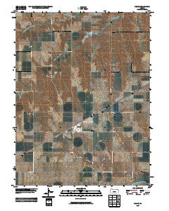 Selden Kansas Historical topographic map, 1:24000 scale, 7.5 X 7.5 Minute, Year 2009