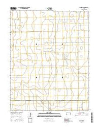 Selkirk SW Kansas Current topographic map, 1:24000 scale, 7.5 X 7.5 Minute, Year 2016