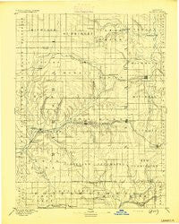 Seneca Kansas Historical topographic map, 1:125000 scale, 30 X 30 Minute, Year 1894