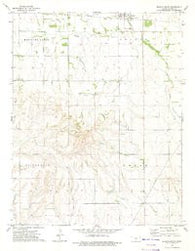 Sharon South Kansas Historical topographic map, 1:24000 scale, 7.5 X 7.5 Minute, Year 1972