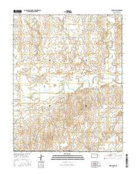 Sitka SW Kansas Current topographic map, 1:24000 scale, 7.5 X 7.5 Minute, Year 2016