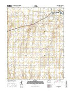 South Dodge Kansas Current topographic map, 1:24000 scale, 7.5 X 7.5 Minute, Year 2016 from Kansas Map Store