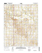 South Haven NE Kansas Current topographic map, 1:24000 scale, 7.5 X 7.5 Minute, Year 2015 from Kansas Map Store