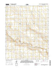 South of Stockholm Cemetery Kansas Current topographic map, 1:24000 scale, 7.5 X 7.5 Minute, Year 2015 from Kansas Maps Store