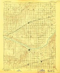 Spearville Kansas Historical topographic map, 1:125000 scale, 30 X 30 Minute, Year 1894