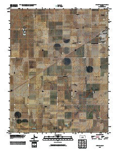 Spearville Kansas Historical topographic map, 1:24000 scale, 7.5 X 7.5 Minute, Year 2009