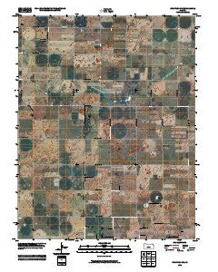 Stafford SW Kansas Historical topographic map, 1:24000 scale, 7.5 X 7.5 Minute, Year 2009