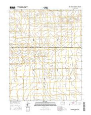 Stockholm Cemetery Kansas Current topographic map, 1:24000 scale, 7.5 X 7.5 Minute, Year 2015 from Kansas Maps Store