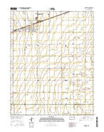 Sublette Kansas Current topographic map, 1:24000 scale, 7.5 X 7.5 Minute, Year 2016 from Kansas Map Store