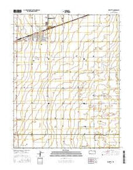 Sublette Kansas Current topographic map, 1:24000 scale, 7.5 X 7.5 Minute, Year 2016
