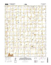 Sublette SE Kansas Current topographic map, 1:24000 scale, 7.5 X 7.5 Minute, Year 2016