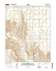 Sublette SW Kansas Current topographic map, 1:24000 scale, 7.5 X 7.5 Minute, Year 2016