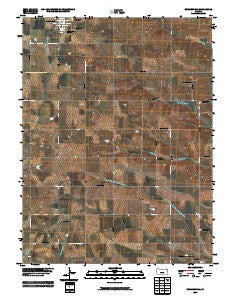 Summerfield Kansas Historical topographic map, 1:24000 scale, 7.5 X 7.5 Minute, Year 2009