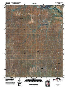 Sun City SW Kansas Historical topographic map, 1:24000 scale, 7.5 X 7.5 Minute, Year 2009